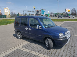 Fiat Doblo Malibu 1.6 + LPG