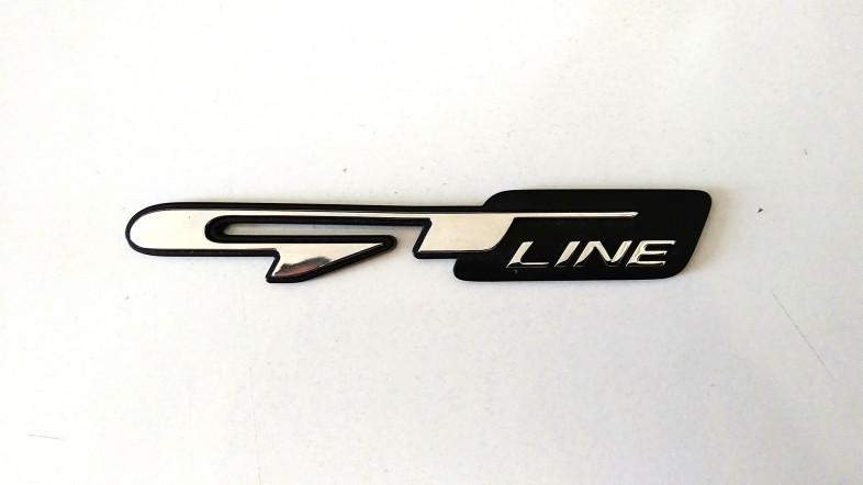 Emblemat GT Line Kia - stan bardzo dobry